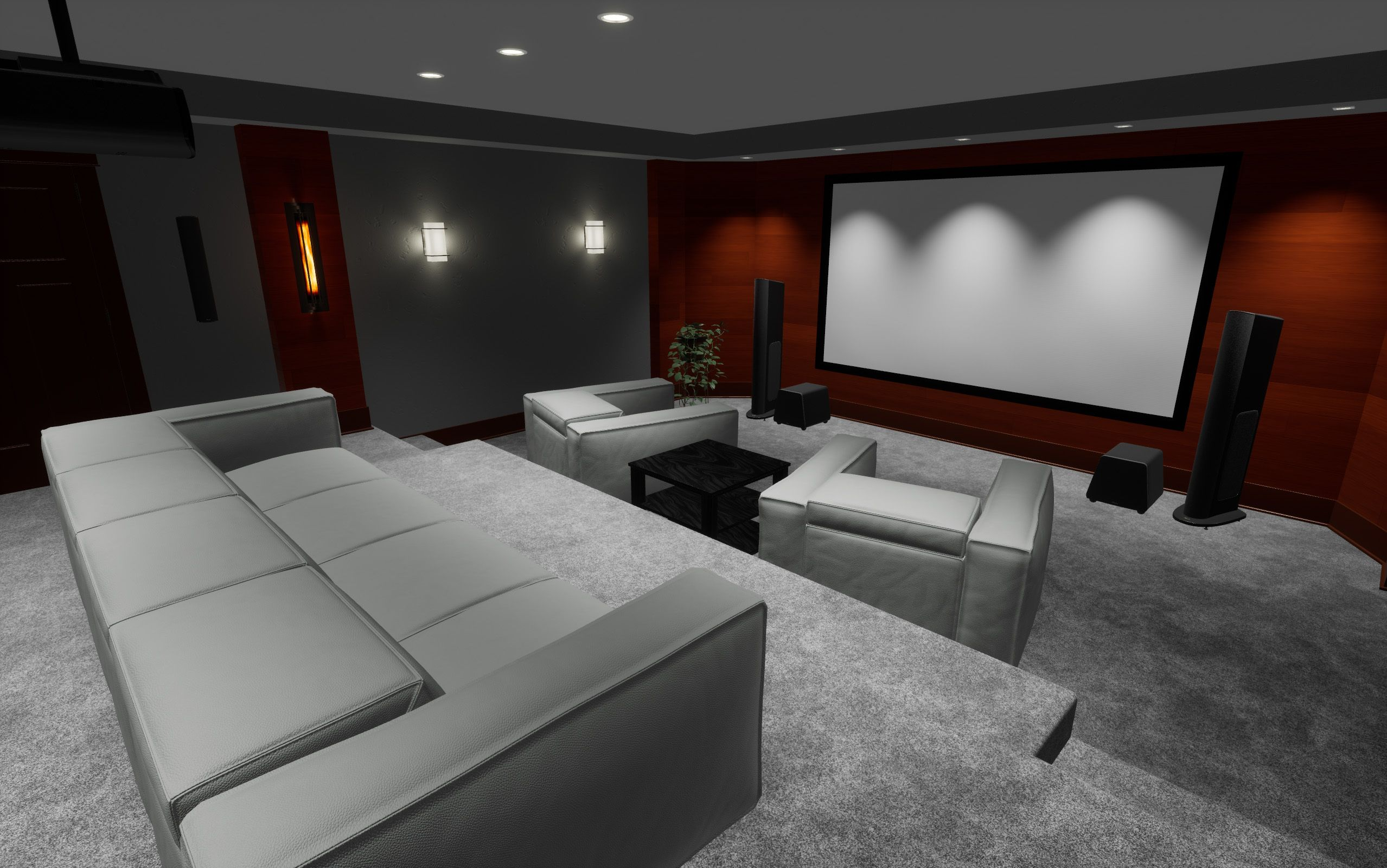 Home Theater Seating Park City, Smart Home Automation, Virtual Reality, Interior Design