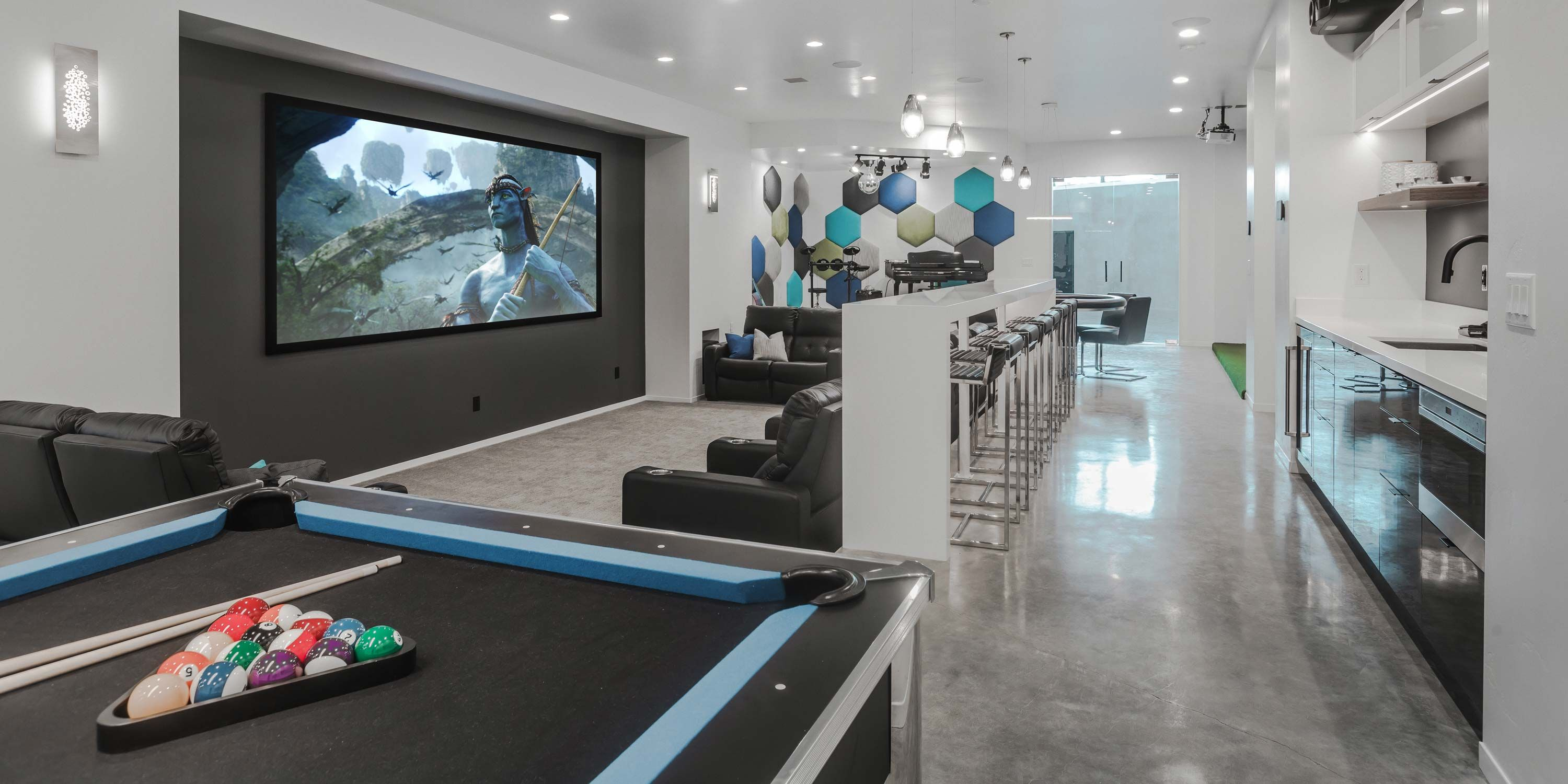 Lighting Control Systems Park City, UT, Indoor living, Home Automation, Smart Home Technology, Utah, Argenta, Bar Game Room