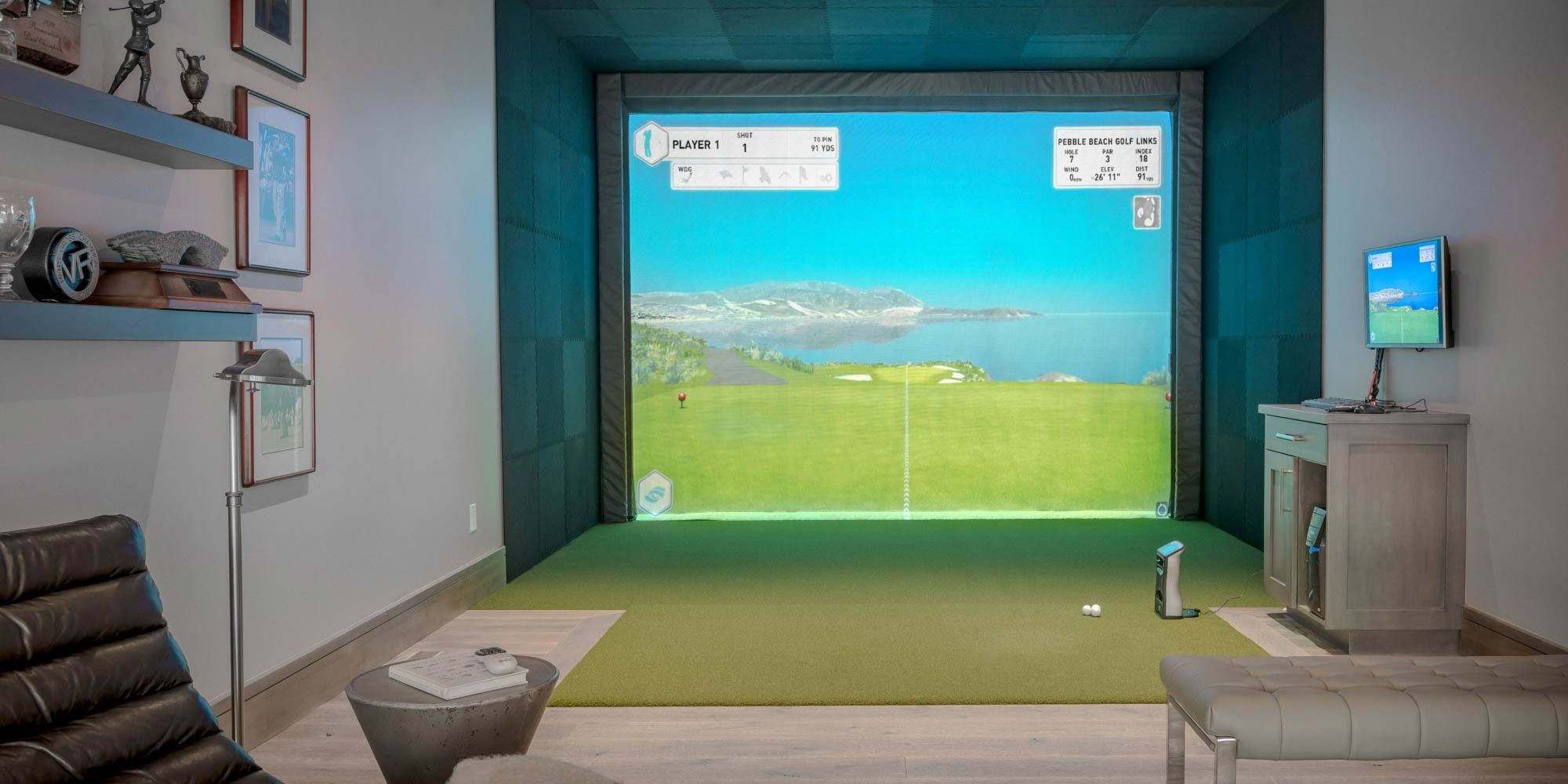 Lighting Control Systems Park City, UT, Indoor living, Home Automation, Smart Home Technology, Utah, Argenta, Golf Simulator